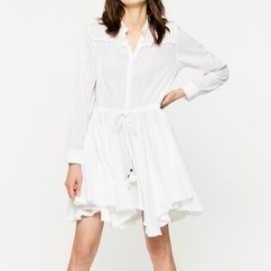Zadig and Voltaire Ranil Dress, Blanc